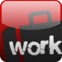 Working hours time card icon