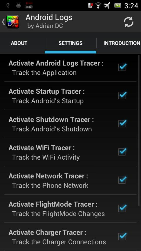 Android Logs - screenshot