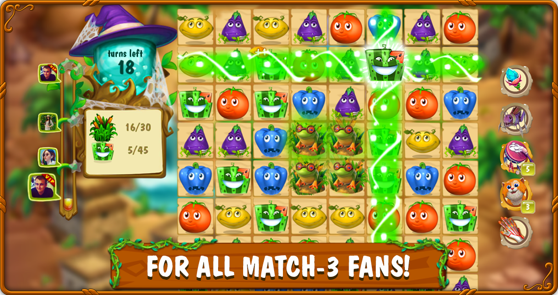 Magic Kitchen: match-3 game- screenshot