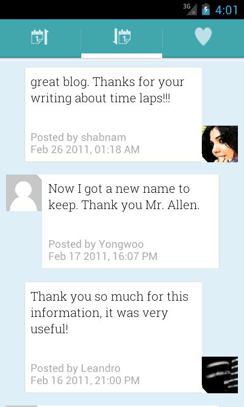 WordPress Blogs Offline Reader- screenshot