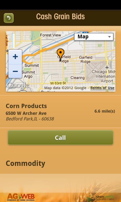 Cash Grain Bids- screenshot