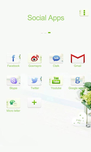 【免費個人化App】Spring GO Launcher Theme-APP點子