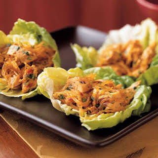 Spicy Asian Lettuce Wraps.