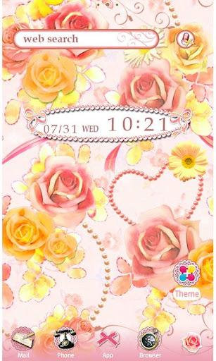 Girly Wallpaper Rose Garden 1.2 Windows u7528 1