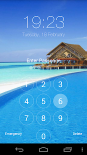 Fake iPhone 5s ios Lock Screen - screenshot thumbnail