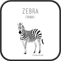 Zebra go launcher theme icon