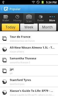 Qropit Social QR Code Reader- screenshot thumbnail