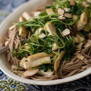 Almond Soba Noodles.