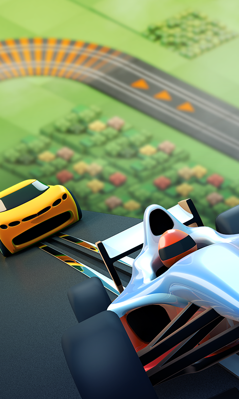 Screenshots of Groove Racer for iPhone
