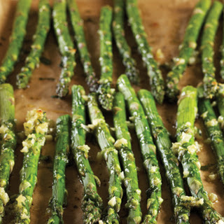 Roasted-Garlic Asparagus