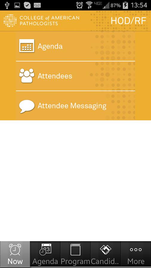 CAPevents - screenshot