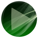 Poweramp Skin Sphere Green icon