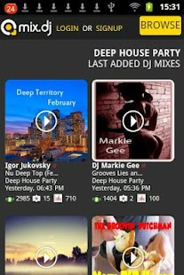 Deep House Party by mix.dj - screenshot thumbnail