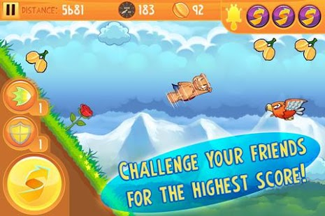 Kew Kew - Crazy Nuts Flying Squirel Game- screenshot thumbnail