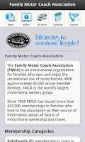 Screenshot of FMCA