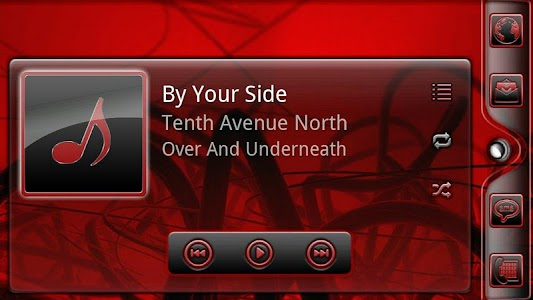 Serenity UberMusic Skin Red screenshot 5