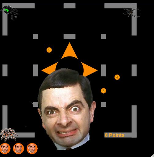 Mr Bean von Spinnen gehetzt