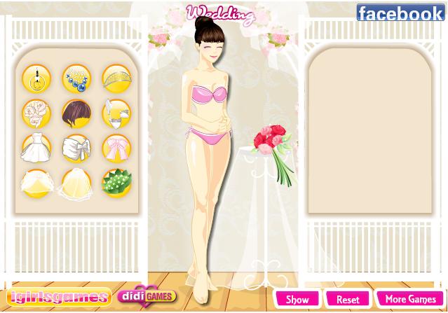 เกมส์แต่งตัวเจ้าสาวหรรษา - screenshot
