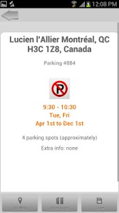Free Parking Montreal - screenshot thumbnail