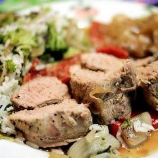 Italian-Style Pork Tenderloin.