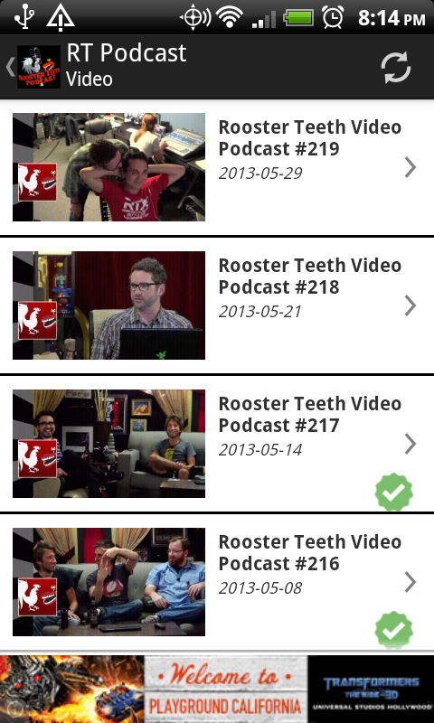 Rooster Teeth Podcast - screenshot