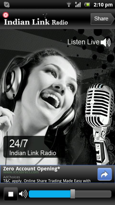 Indian Link Radio- screenshot