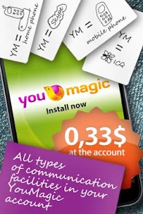 YouMagic Free Call SIP/VoIP/IP - screenshot thumbnail