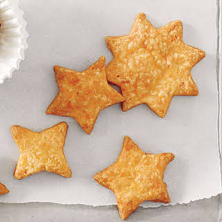 Spicy Cheddar Appetizer Cookies.