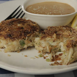 Mario Batali's South East Asian Style Crab Cakes.