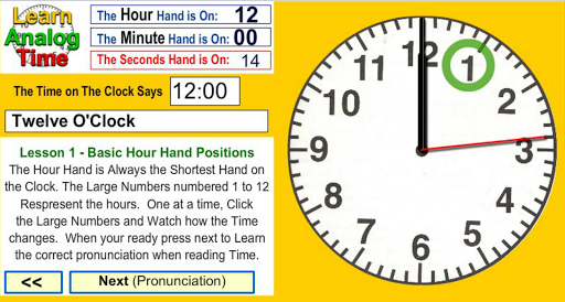 Learn Analog Time Apk Download 16