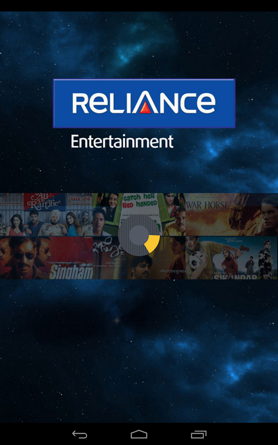Reliance Entertainment - screenshot