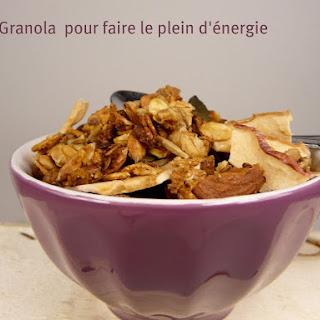 Homemade Granola.