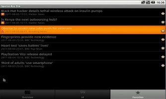 Screenshot of ★★★★★ Full Feed Sparse RSS Pro