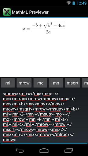 MathML Previewer