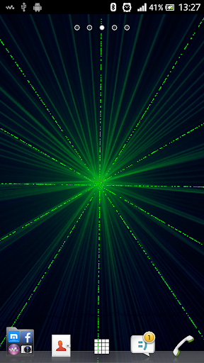 레이저 빛 라이브 배경 화면