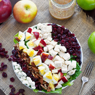 Autumn Harvest Salad with Sweet Dijon Vinaigrette
