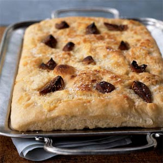 Fig and Mascarpone Focaccia