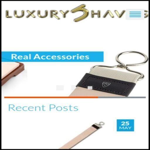 Luxury Shaves LOGO-APP點子