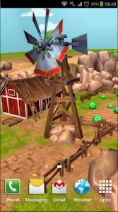 Cartoon Farm 3D Live Wallpaper screenshot 4
