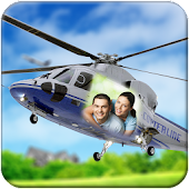 Helicopter Photo Frame