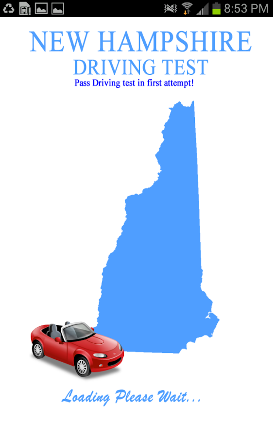 New Hampshire Driving Test- screenshot