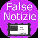 False Notizie - Scherzo Fake icon