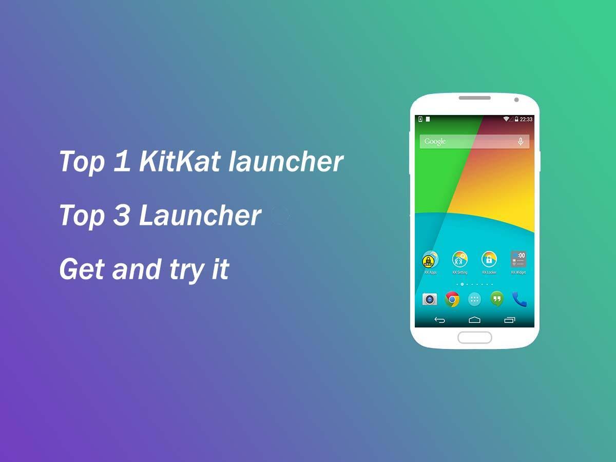 KK Launcher ( KitKat Launcher) - screenshot