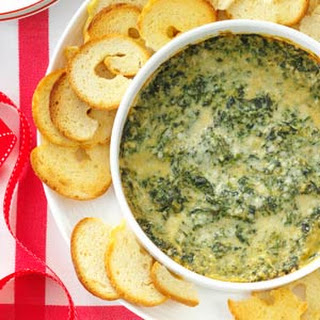 Baked Creamy Spinach Dip.