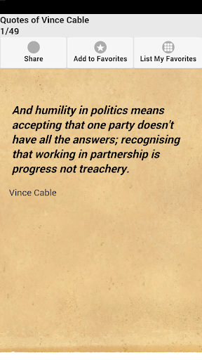 Quotes of Vince Cable