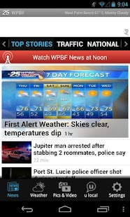 WPBF 25 - news and weather - screenshot thumbnail