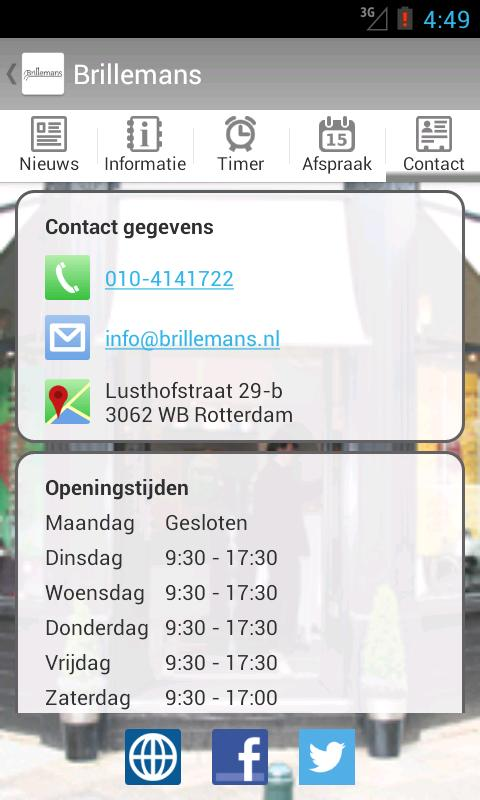 Brillemans- screenshot