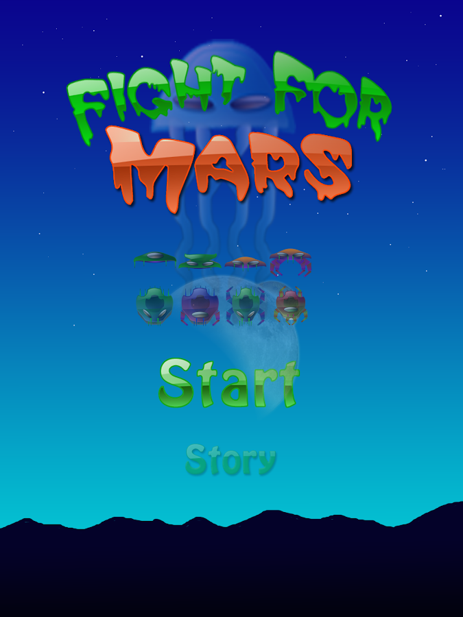 Fight for Mars Free- screenshot