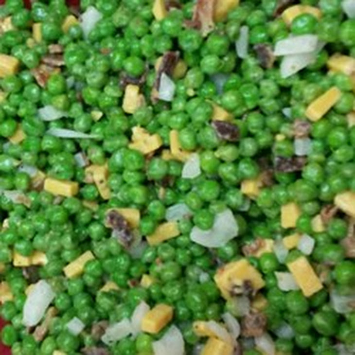 Easy Pea Salad Recipe