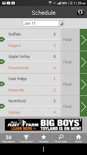 Boys' Hockey Scoreboard- screenshot thumbnail